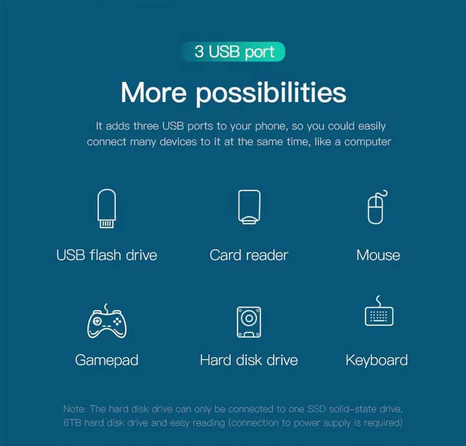Bộ USB C DEX Station mở rộng cho Samsung, Huawei hiệu Baseus 8 in 1 kết nối HDMI,3.5mm,USB 3.0, đọc thẻ nhớ, Sạc PD 49W cho điện thoại Galaxy S9 S10 Note 9 Note 10, Mate 20 Pro, P30 Pro