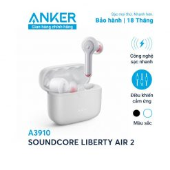 Tai Nghe Bluetooth SoundCore Liberty Air 2 - A3910 (By Anker)