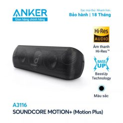 Loa Bluetooth Soundcore Motion+ (Motion Plus) - A3116 (By ANKER)