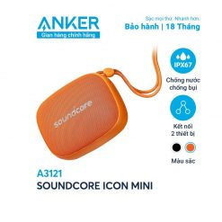 Loa Bluetooth SoundCore iCon Mini - A3121 (By Anker)