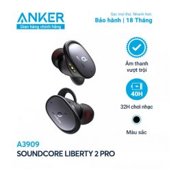Tai Nghe Bluetooth SoundCore Liberty 2 Pro - A3909 (By Anker)