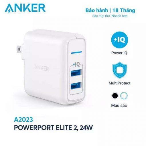 Sạc Anker PowerPort Elite 2