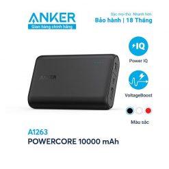Pin dự phòng Anker PowerCore 10000 - A1263