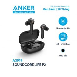 Tai Nghe Bluetooth SoundCore Life P2 - A3919 (By Anker)