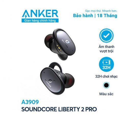 Tai Nghe Bluetooth SoundCore Liberty 2 Pro - A3909 (By Anker)