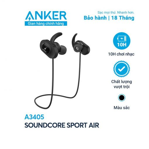 Tai Nghe Bluetooth Soundcore Sport Air - A3405 (By Anker)