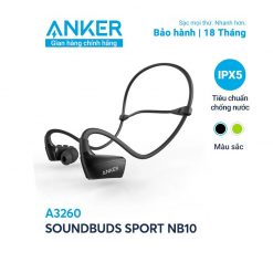 Tai Nghe Bluetooth Anker SoundBuds Sport NB10 - A3260