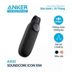 Loa Bluetooth SoundCore iCon - A3122 (By Anker)
