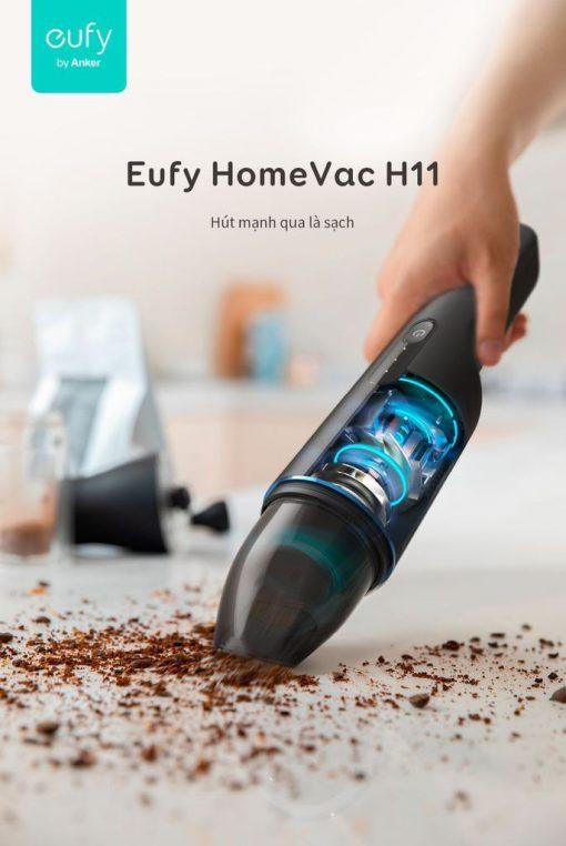 Máy hút bụi mini cầm tay Eufy HomeVac H11 - T2521