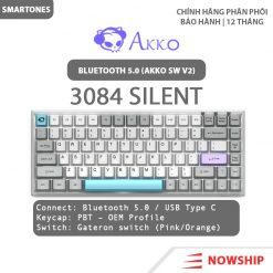 Ban Phim Akko 3084 Bluetooth Silent 01