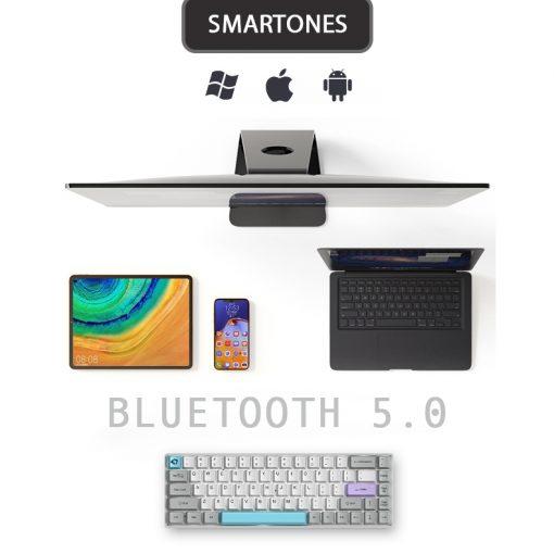 Ban Phim Akko 3084 Bluetooth Silent 03