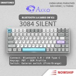 Ban Phim Akko 3084 Bluetooth Silent 07