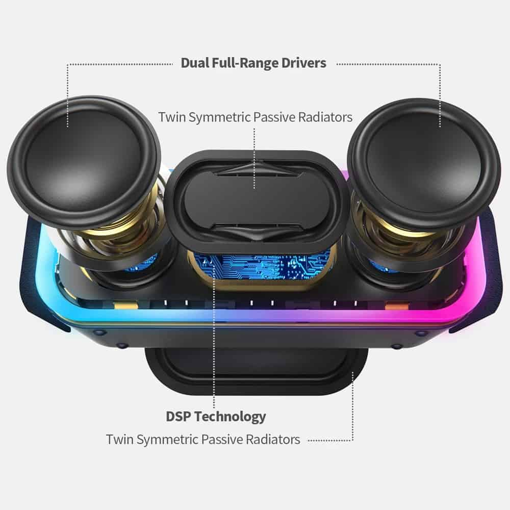 Loa Di Dong Doss Soundbox Pro+ 02