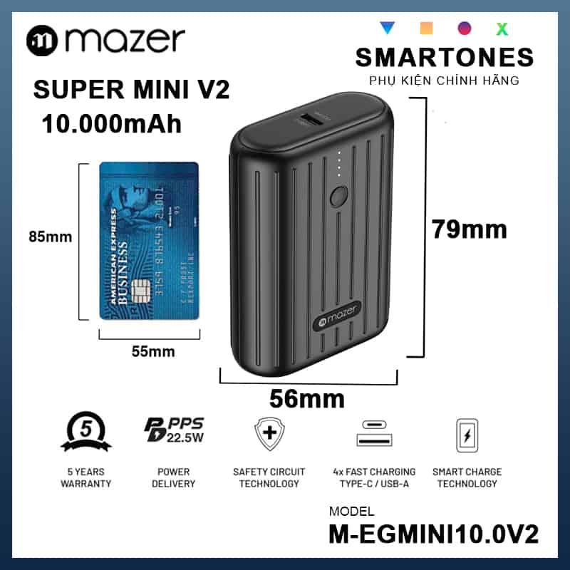 Pin0du Phong Mazer Super Mini V2 09