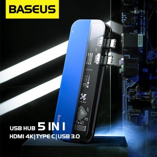Usb Hub Baseus 5 In 1 02